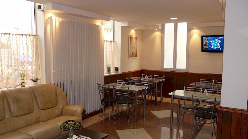 salon de thé et petit-déjeuner, cafétéria