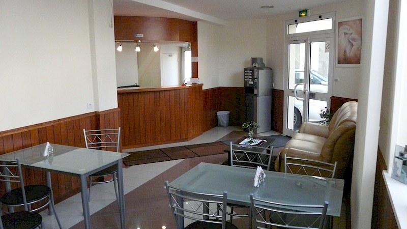 salon de thé et petit-déjeuner, cafétéria, hall et deck