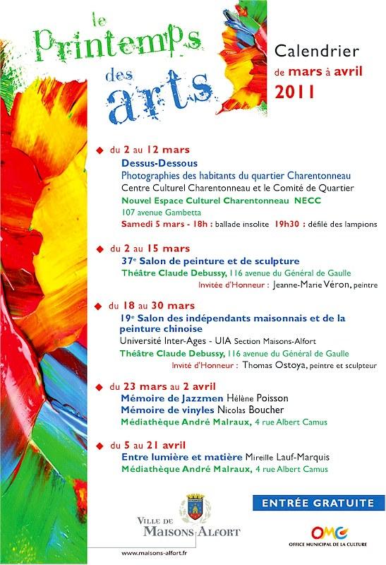 Printemps des Arts 2011 - Maisons-Alfort