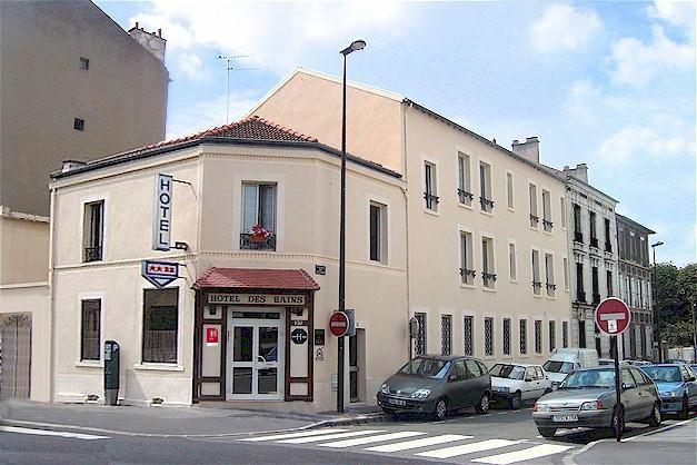 Hôtel des Bains Maisons-Alfort à 8 km de Paris-Bercy