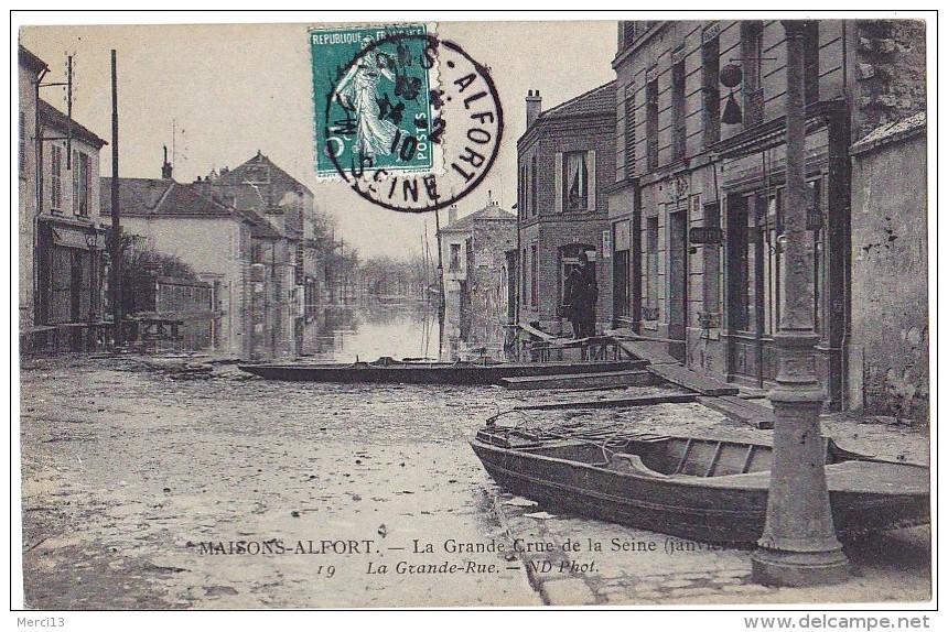 1910 Maisons-Alfort-Grande Rue Hôtel des Bains